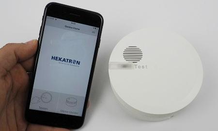 Hekatron Genius Plus App - Auswahl