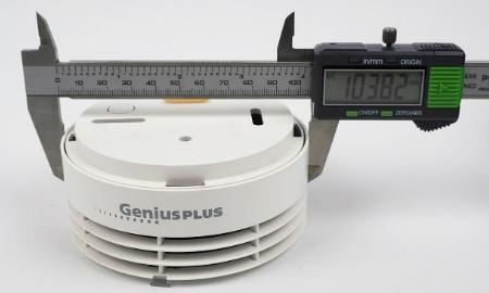 Hekatron Genius Plus Durchmesser