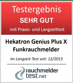 Hekatron Funkrauchmelder Genius PLUS X