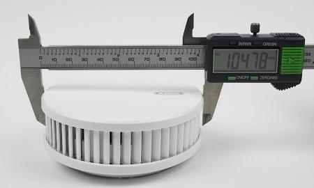 Durchmesser des Abus RWM250 an der breitesten Stelle.