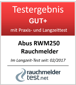 ABUS Rauch und Hitzewarnmelder RWM250