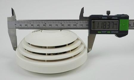 Durchmesser des Bosch Ferion 1000 O an der breitesten Stelle