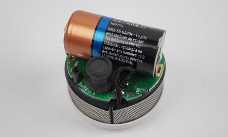 Cavius Mini Rauchmelder - fest verbaute Batterie Batterie