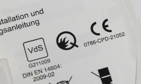 Ei650 mit VdS und Q Kennzeichnung