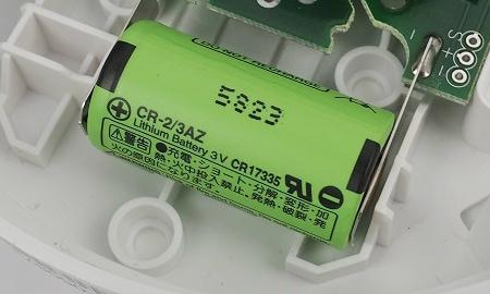 Fest verbaute Lithium-Batterie im Ei650W
