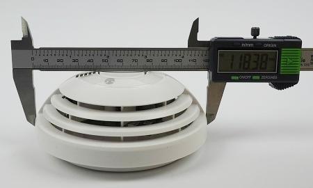 Durchmesser des Bosch Ferion 4000 O an der breitesten Stelle