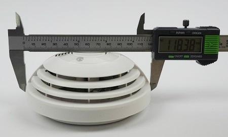 Durchmesser des Bosch Ferion 5000 OW an der breitesten Stelle