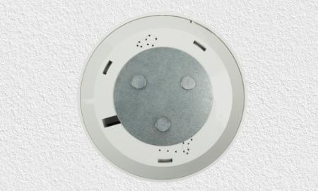 Montagesockel des Gira Dual Q mit Magnethalter
