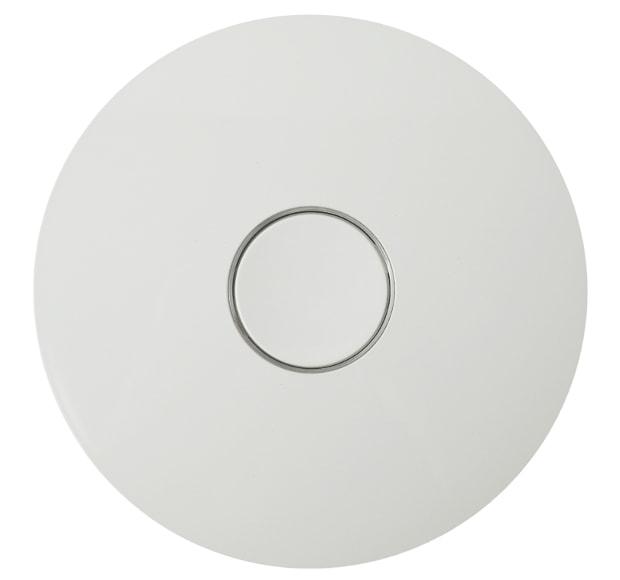 Oberfläche des Gira Dual Q Funkrauchmelders