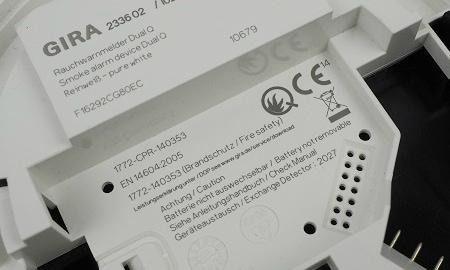 Q-Kennzeichnung des Gira Dual Q