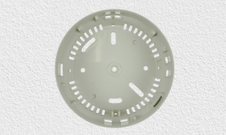 Detectomat HDv Sensys Montage - Montagesockel mit Aussparungen