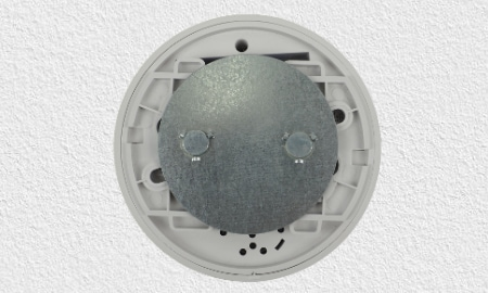 Montage des Lupusec SD-8 Rauchmelders mit Magnethalter