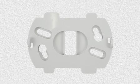 Montage des Lupusec Rauchmelders mit Montagesockel