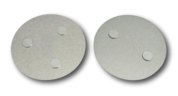 Anzahl Magnete bei Magnetbefestigung