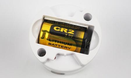 Austauschbare Batterie im JO-EL (Cavius) Mini Rauchmelder