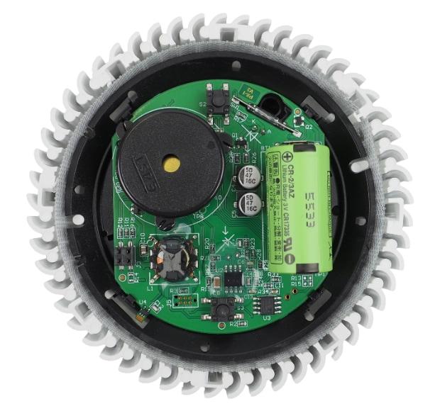 Pyrexx PX-1 Rauchmelder Innenseite
