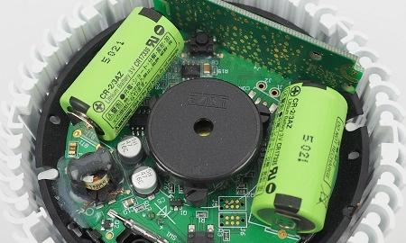 Batterien im Pyrexx PX-1C Funkrauchmelder