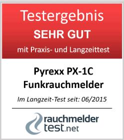 Pyrexx PX-1C Funkrauchmelder