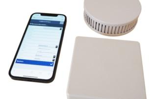 Pyrexx PX-iP Gateway mit Rauchmelder und App