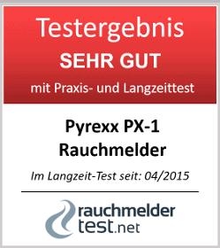 Pyrexx PX-1 12-Jahres-Rauchmelder