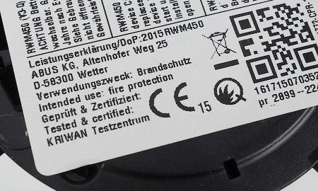 Kriwan und Q-Kennzeichnung des RWM450