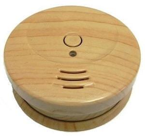 Smartwares Rauchmelder Holzoptik