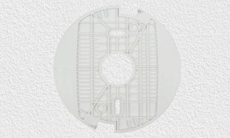 Montage des Abus FURM35000A Smart Home Rauchmelders