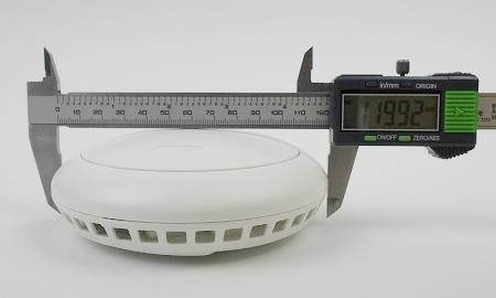 Durchmesser des Smartvest FURM35000A an der breitesten Stelle