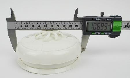 Durchmesser des Mumbi HM100 Hitzemelders