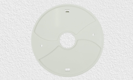 Montagesockel zur Bohrmontage des Mumbi HM100 Wärmemelders