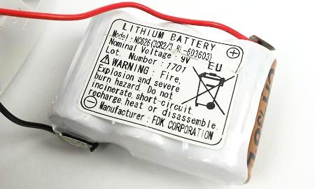 Batterieblock des Ei603TYC