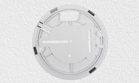 Montagesockel zur Bohrmontage des Ei603TYC Hitzemelders