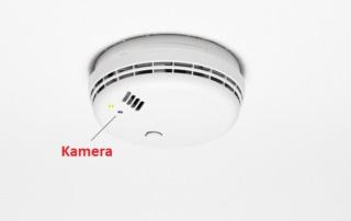 Versteckte Kamera im Rauchmelder