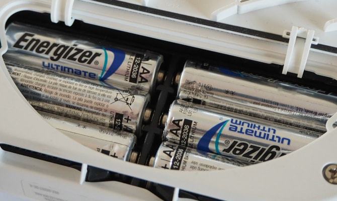 Auswechselbare Langzeit-Batterien in Rauchmelder