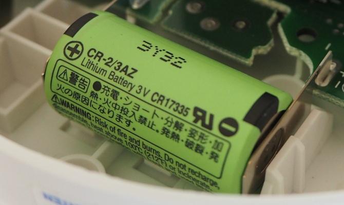 Fix integrierte Langzeitbatterie in Rauchwarnmelder