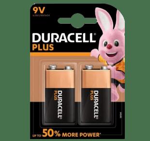 Duracell 9V Alkaline Batterie