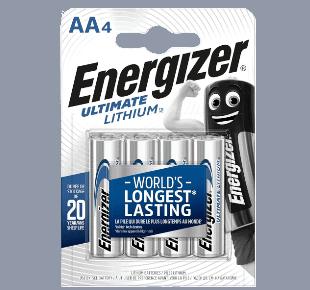 Energizer 1,5V AA Lithium Batterie
