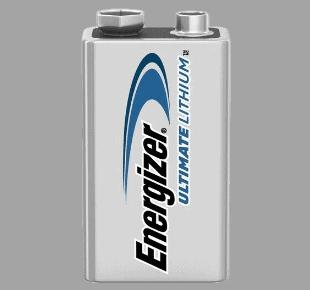 Energizer Lithium Batterie 9V