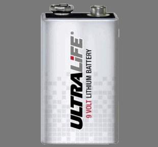 Ultralife Lithium Batterie 9V