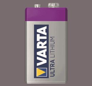 Varta Ultra Lithium Batterie 9V