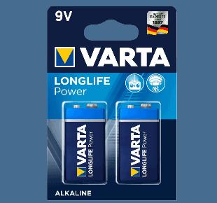 Varta 9V Alkaline Batterie
