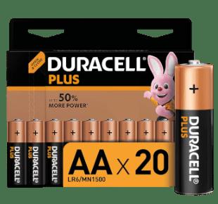 Duracell 1,5V AA Alkaline Batterien