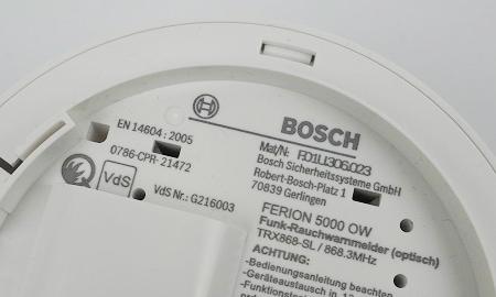 Bosch Ferion 5000ow mit Q-Label