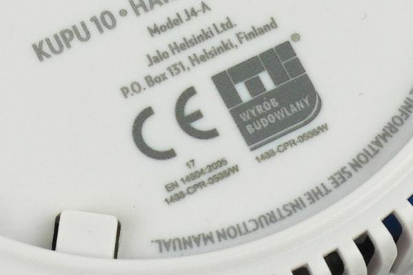 CE Kennzeichnung Rauchmelder