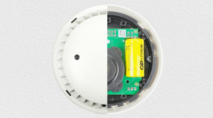 Detectomat HDv Sensys Rauchmelder Test