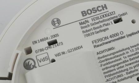 Ferion 4000 O mit VdS Anerkennung und Q-Label