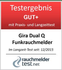 Gira Dual Q Funkrauchmelder