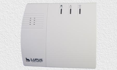 Lupusec Smart Home mit Rauchmelder