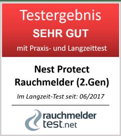 Nest Protect 2nd Generation Smoke + Kohlenmonoxid Alarm, S3003LWGB