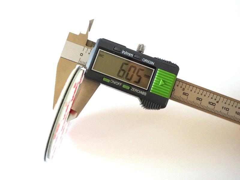 Dicke der Smartwares Magnethalter